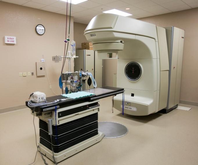 Beginilah rupa mesin radioterapi